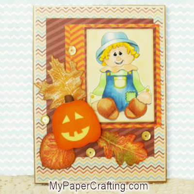 DCWV Fall and Halloween Basics Stack Project Idea Card