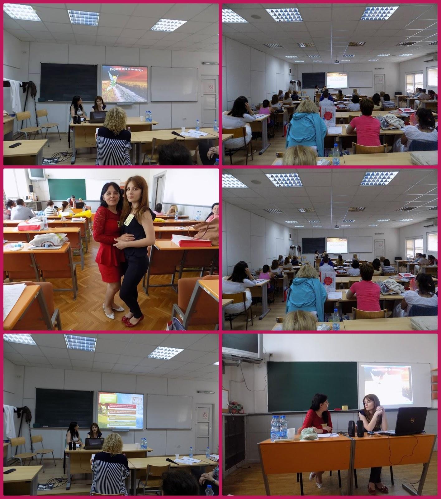 """Блог """"Креативност на дар"""" презентован је као пример добре праксе на Сабору учитеља јуна 2016."""