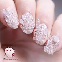 Piggieluv Rock Crystal Quartz Nail Art