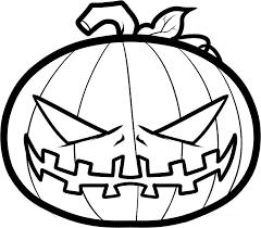 Pumpkin Coloring Pages 6