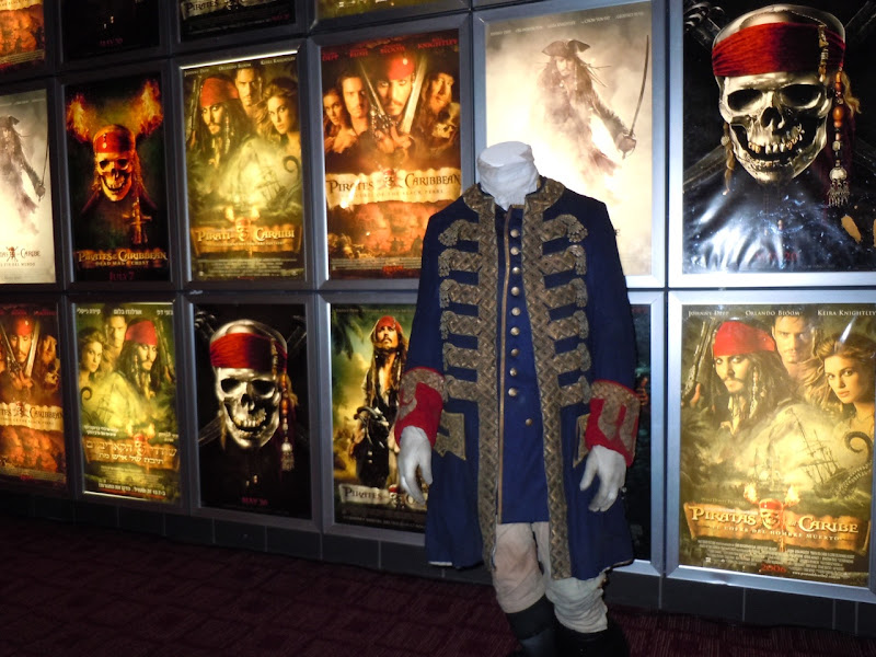 Pirates of the Caribbean 4 Captain Barbossa costume