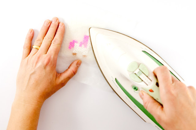Bügelperlen Anstecker