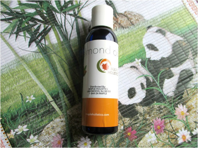 Maple Holistics Sweet Almond Oil Skincare Review | A Cruelty-Free, All Natural Brand!