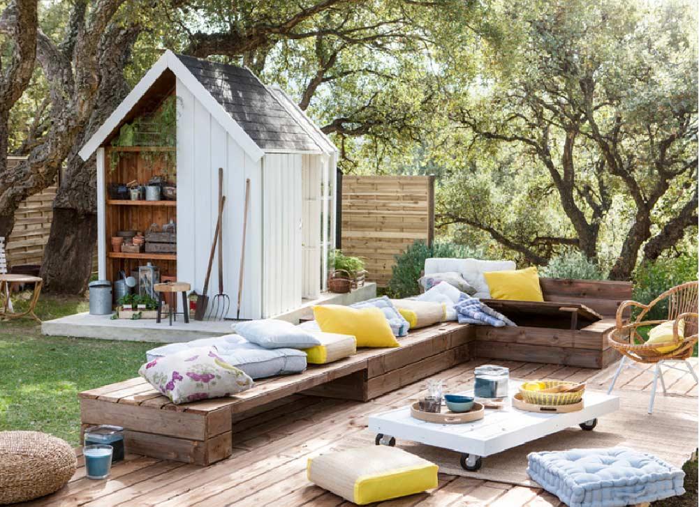 consigli per decorare gli spazi outdoor
