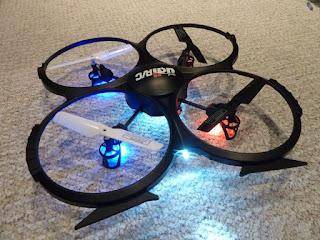 Spesifikasi UDI U818A Drone - GudangDrone