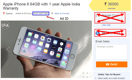 How to Remove Mobile Number/Ad from OLX - Tech Linko