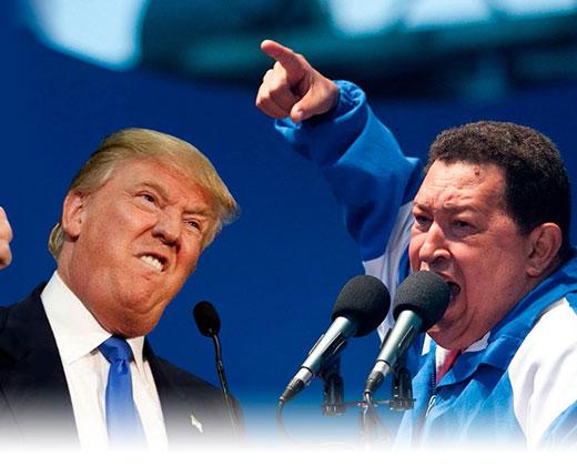 Partido Demócrata compara a Donald Trump con Hugo Chávez