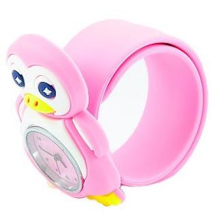 Model Jam Tangan Anak Karakter Kartun Pinguin