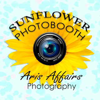 The Sunflower Photobooth by Aris Affairs Photography is a great addition to your Prescott neighborhood block party.