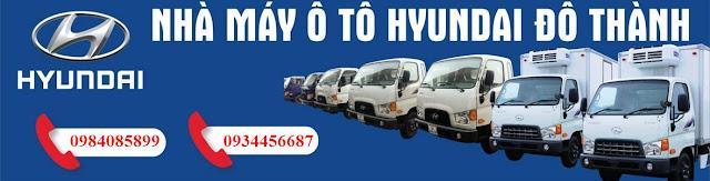 Đại lý xe tải Hyundai tại Ninh Bình