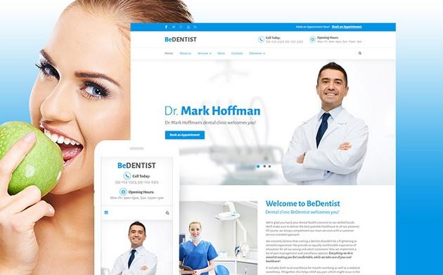 best sellers dental website theme