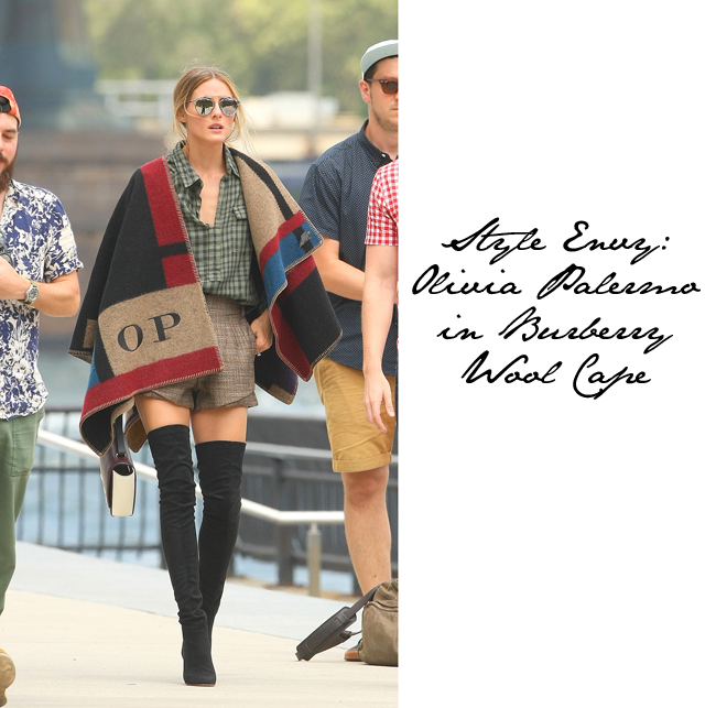 taille 40 vente en magasin Achat/Vente Fashion Foie Gras: Olivia Palermo takes her Burberry ...