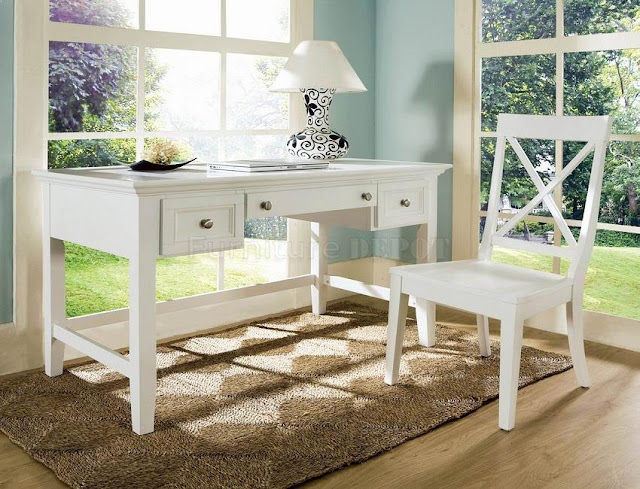 best buy white wooden home office furniture for sale cheap