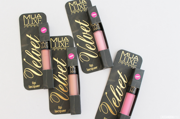 MUA [MAKE UP ACADEMY] // New Luxe Velvet Matte Lip Lacquer Shades - CassandraMyee