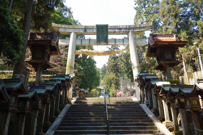 生駒山 寶山寺(大鳥居)