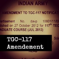 Amendment To TGC-117 Notification
