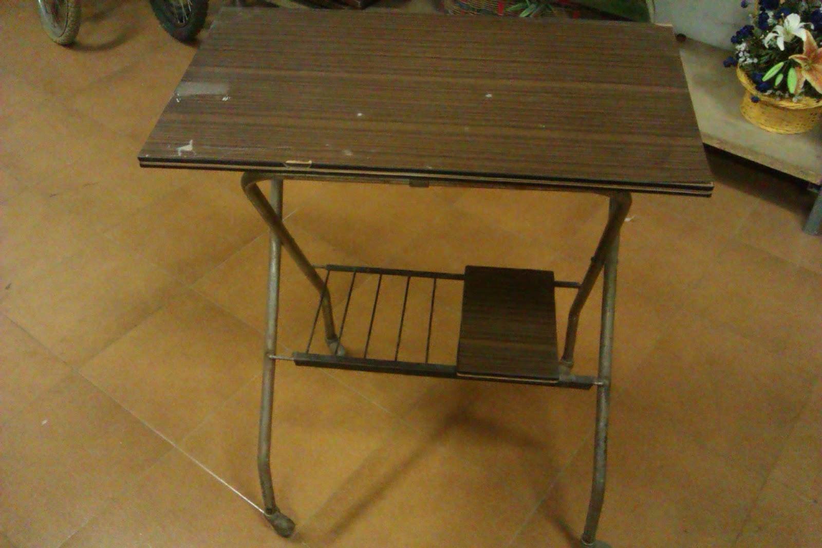 Decoraconmar a un escritorio mesa para ordenador a for Como reciclar una mesa de televisor antigua