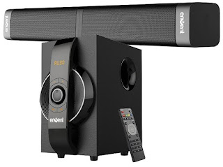 Envent Horizon-502 Home Audio Speaker (Grey, 2.1 Channel)