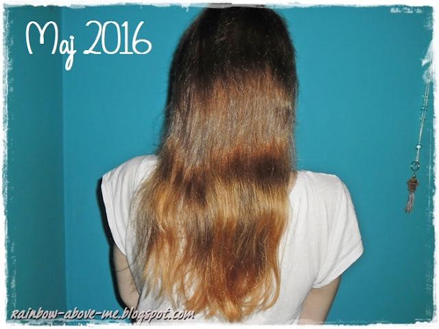 moja włosowa historia, odrosty po 2 latach