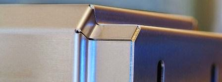 Hasil bending plat