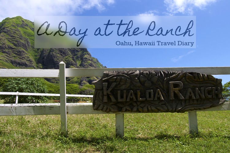 A Day at Kualoa Ranch // Almost Chic