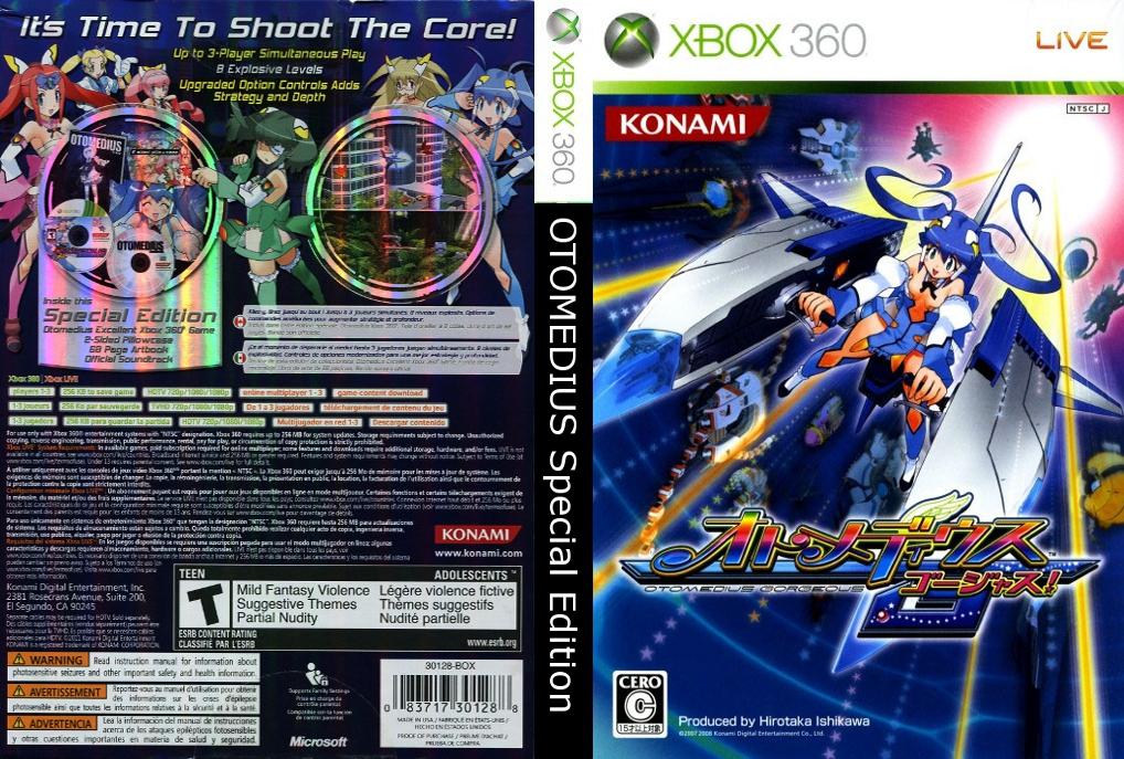 RGH360LTU: XBOX 360 OTOMEDIUS GORGEOUS SPECIAL EDITION