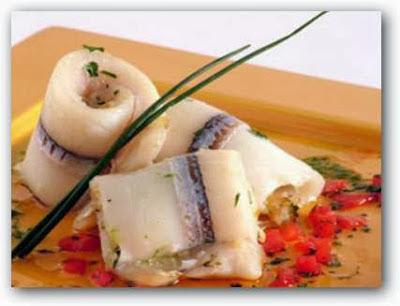 Area de pesca recetas con pescado arrollados de pejerrey Cocinar con 5 ingredientes