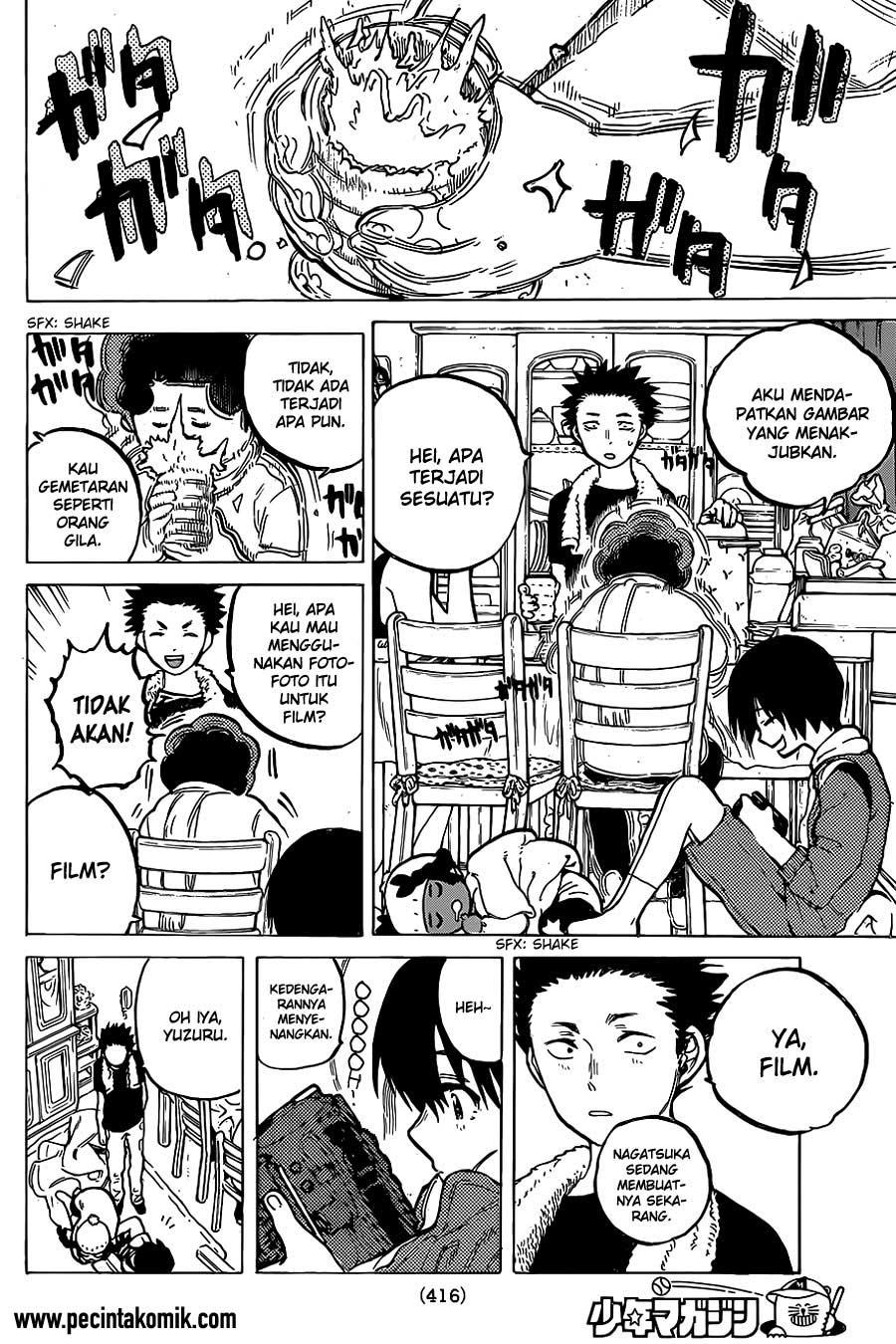 Koe no Katachi Chapter 20-9