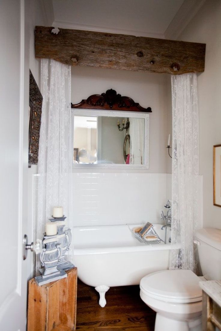 Best Small Space Organization Hacks: 31 Gorgeous Rustic ... on Ideas For Small Bathrooms  id=22364