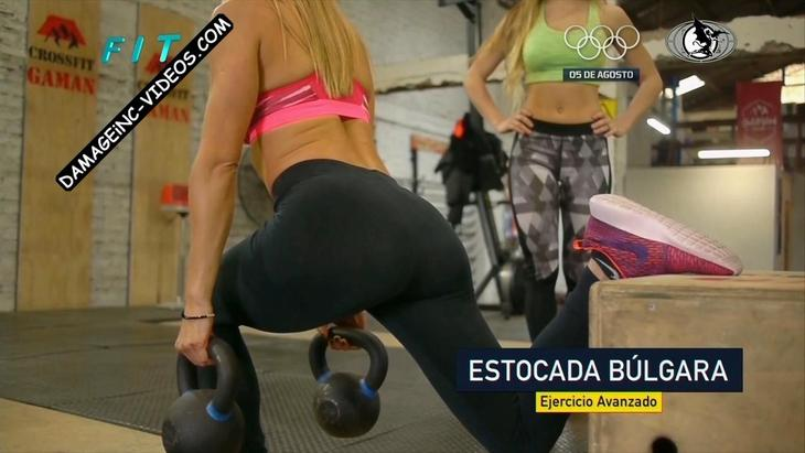 Lucila Vit hot booty in black leggings damageinc videos HD