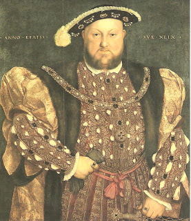 """Famous Art: """"Henry VIII"""" by Hans Holbein 1540"""