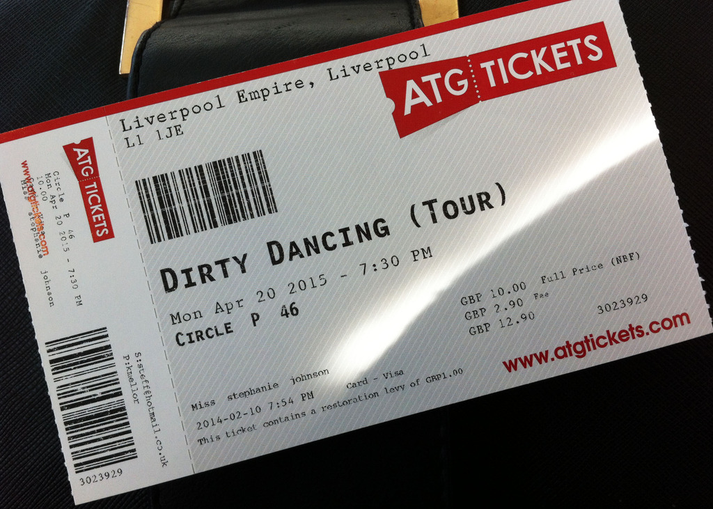 Liverpool Empire | Dirty Dancing