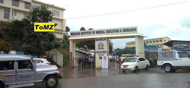 MIMER Mizoram Inaugurated