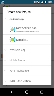 new-android-app
