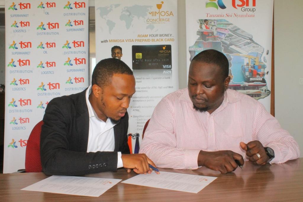 Tsn Group Yaingia Mkataba Na Mimosa Concierge Kurahisisha Huduma Kwa Wateja Wao Michuzi Blog