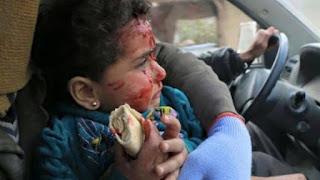 Kekejaman Syiah: Pagi Berdarah di Ghauta Timur Suriah