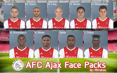 PES 2017 Facepack Ajax Amsterdam by Mirukuu