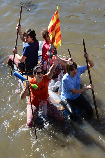 Girona raft