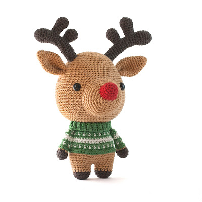Rudolph the Reindeer Crochet pattern