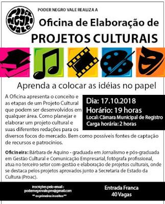 Registro-SP recebe oficina de elaboração de projetos culturais