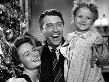 4 July 1940 worldwartwo.filminspector.com Jimmy Stewart Karolyn Donna Reed Grimes It's A Wonderful Life