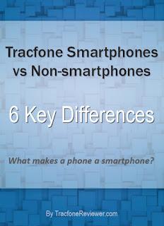 tracfone smartphones vs non smartphones