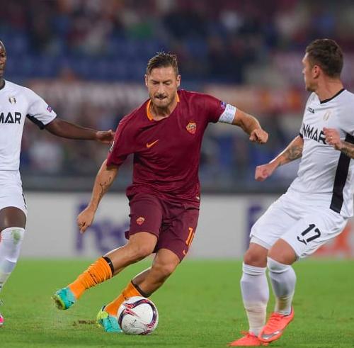 Totti 4.0 Roma 4.0