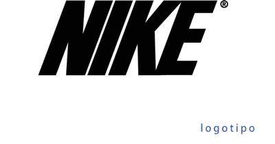 new style 54b03 6b3d3 Los signos de identidad lingüística de Niké están compuestos por el nombre  completo de la empresa en mayúscula con una inclinación hacia el lado  derecho