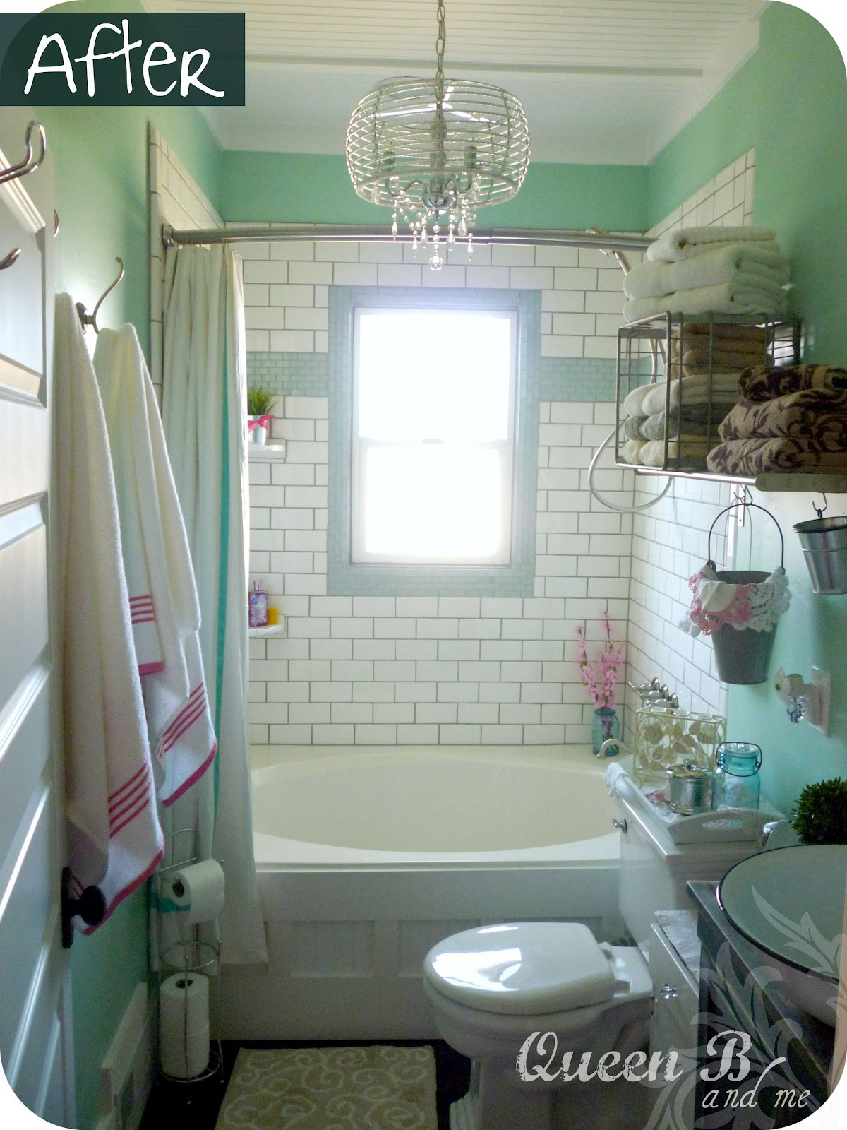 Subway tile tutorial subway tile tutorial part 2 how to transform your bathroom into something beautiful dailygadgetfo Gallery