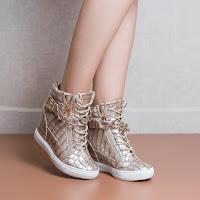 Sneakers dama Libitina bej comozi • modlet