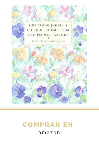 Libro esquemas de color para el jardín de flores de Gertrude Jekyll Amazon