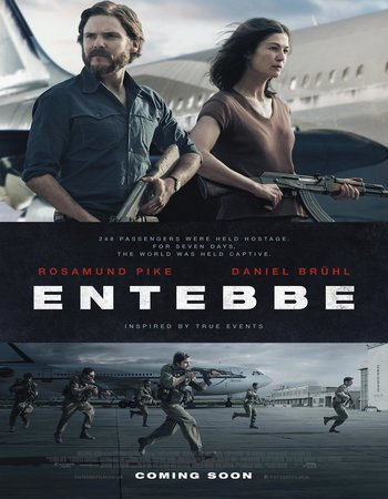 7 Days in Entebbe (2018) English 480p HDRip x264 300MB