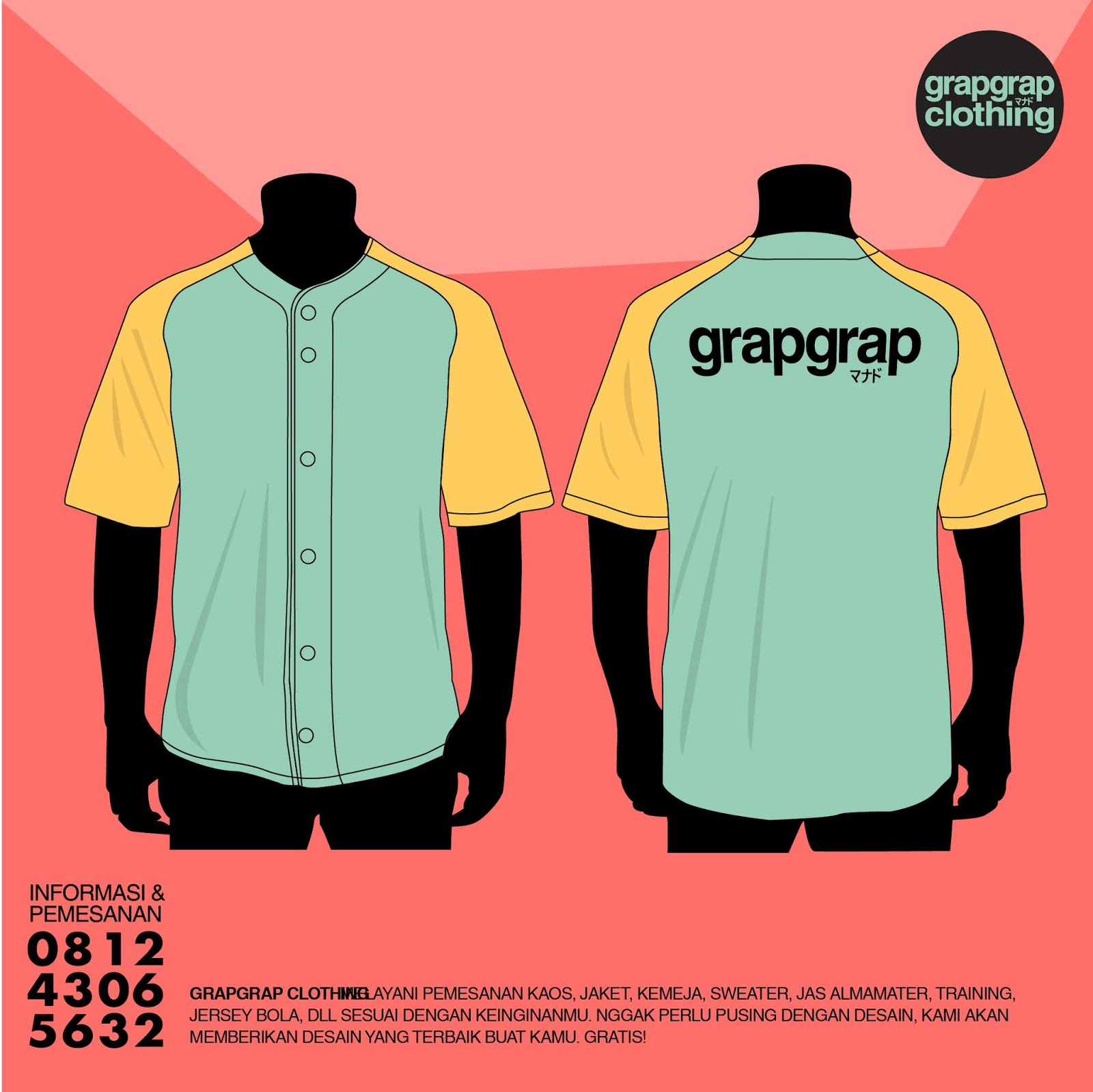 Beking Kaos Jersey Murah di Manado