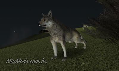 gta sa mod animais selvagens wild animals wolf lobo